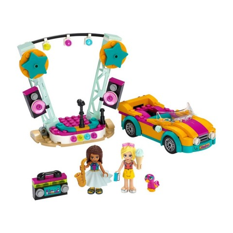 Lego Friends Andrea'S Car & Stage [ Black Friday ]