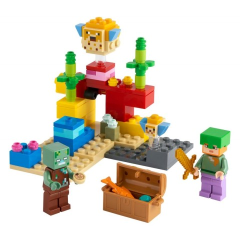 Lego Minecraft™ The Coral Reef [ Black Friday ]