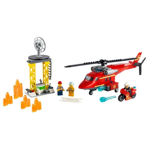 Lego City Fire Rescue Helicopter [ Black Friday ]