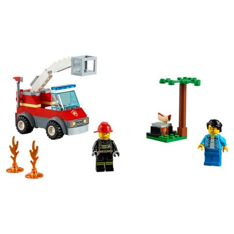 Lego City Barbecue Burn Out [ Black Friday ]