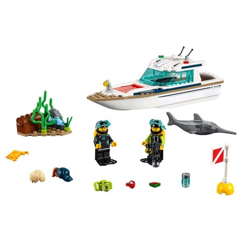 Lego City Diving Yacht [ Black Friday ]