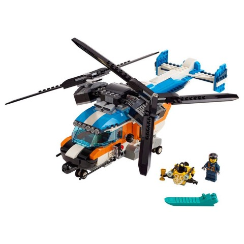 Lego Creator 3-In-1 Twin-Rotor Helicopter [ Black Friday ]