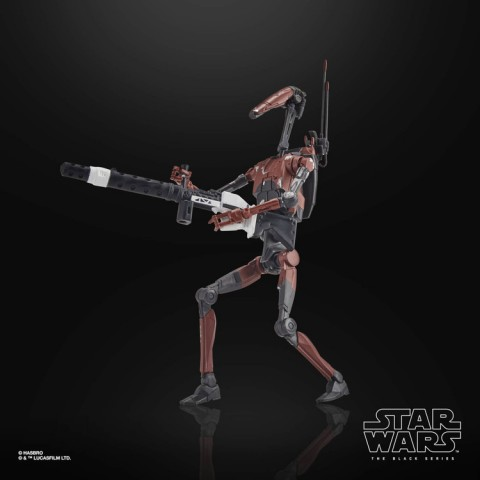 Hasbro Star Wars The Black Series Gaming Greats Heavy Battle Droid Action Figure Canada [Sale]