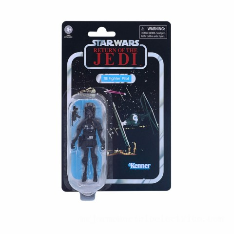 Hasbro Star Wars The Vintage Collection TIE Fighter Pilot 3.75-Inch Scale Star Wars: Return of the Jedi Action Figure Canada [Sale]