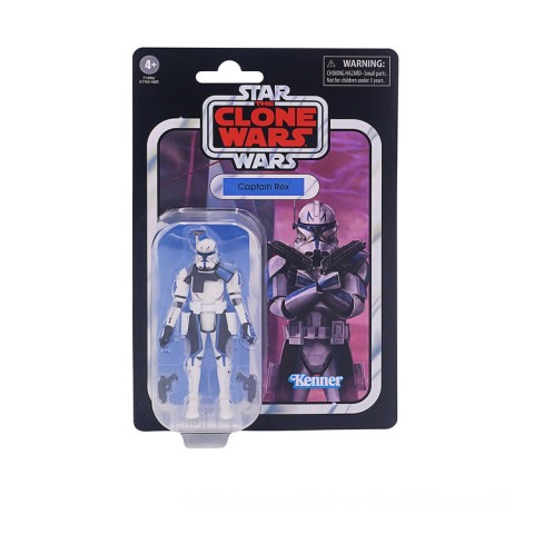 Hasbro Star Wars The Vintage Collection Captain Rex 3.75-Inch Scale Star Wars: The Clone Wars Figure Canada [Sale]