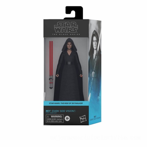 Hasbro Star Wars The Black Series Star Wars: The Rise of Skywalker Rey (Dark Side Vision) 6-Inch Scale Action Figure Canada [Sale]