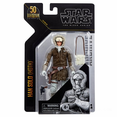 Hasbro Star Wars The Black Series Archive Han Solo (Hoth) Action Figure Canada [Sale]