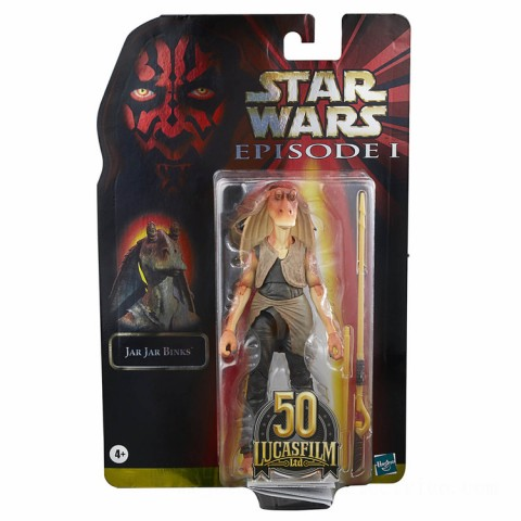 Hasbro Star Wars The Black Series Jar Jar Binks Action Figure Canada [Sale]