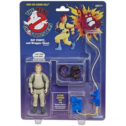 Hasbro Ghostbusters Kenner Classics Ray Stantz and Wrapper Ghost Retro Action Figure Canada [Sale]