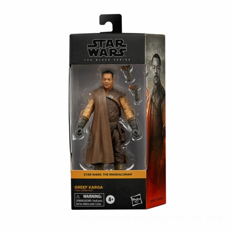 Hasbro Star Wars The Black Series Greef Karga Action Figure Canada [Sale]