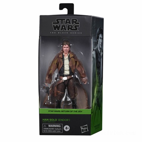 Hasbro Star Wars The Black Series Han Solo (Endor) Action Figure Canada [Sale]