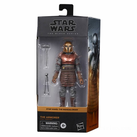 Hasbro Star Wars The Black Series The Armorer Action Figure Canada [Sale]