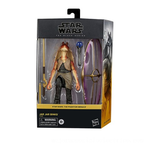 Hasbro Star Wars The Black Series Jar Jar Binks 6-Inch-Scale Star Wars: The Phantom Menace Collectible Deluxe Action Figure Canada [Sale]