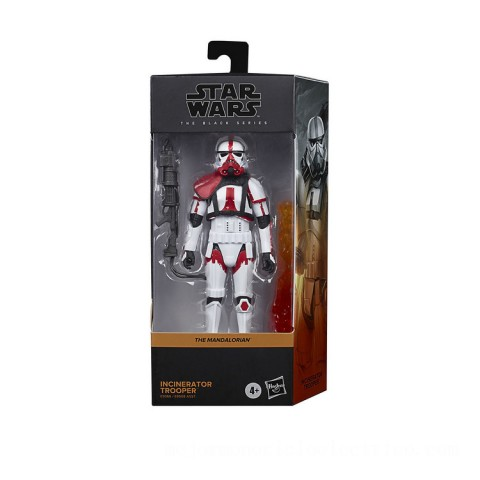 Hasbro Star Wars The Black Series Incinerator Trooper Toy 6-Inch Scale The Mandalorian Collectible Figure Canada [Sale]