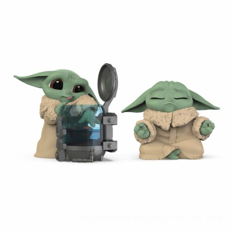 Star Wars The Bounty Collection The Child 2-Pack Curious Child, Meditation Poses Figures Canada [Sale]