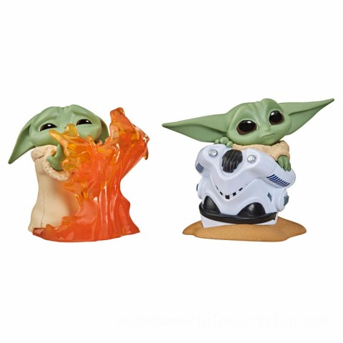 Hasbro Star Wars The Bounty Collection The Child Helmet Hiding Pose and Stopping Fire Pose 2 Pack Figures Canada [Sale]