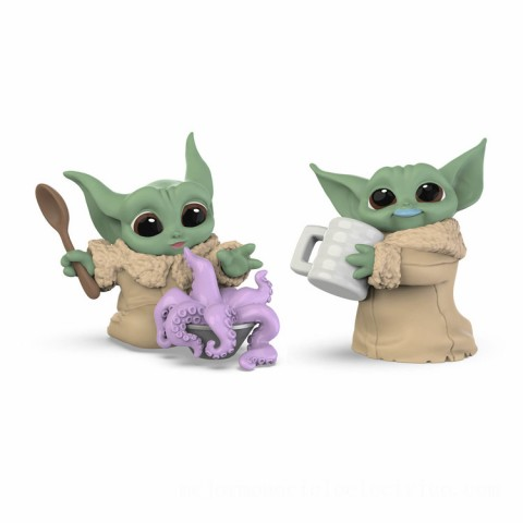 Star Wars The Bounty Collection The Child 2-Pack Tentacle Soup Surprise, Blue Milk Mustache Posed Figures Canada [Sale]