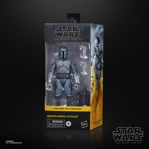 Hasbro Star Wars The Black Series Mandalorian Loyalist Action Figure Canada [Sale]
