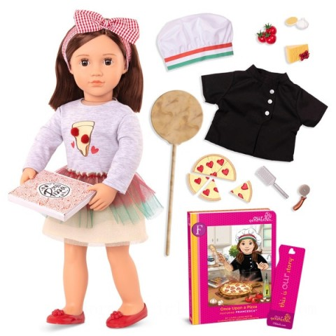 Our Generation Deluxe Doll Francesca doll Canada [Sale]