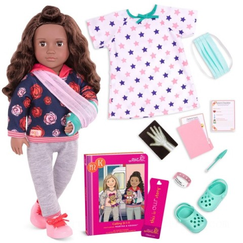 Our Generation Deluxe Doll Keisha doll Canada [Sale]