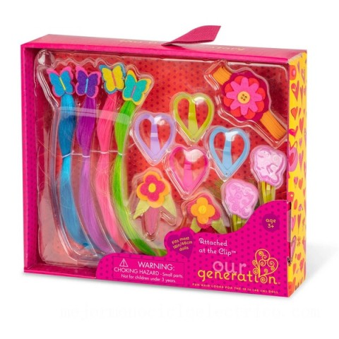 Our Generation Accessories Hair Accessory Kit doll Canada [Sale]