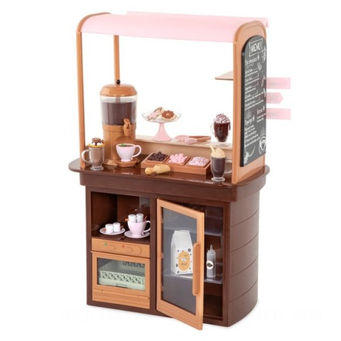 Our Generation Hot Chocolate Stand doll Canada [Sale]