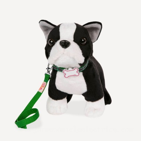 Our Generation 15cm Boston Terrier Pup doll Canada [Sale]