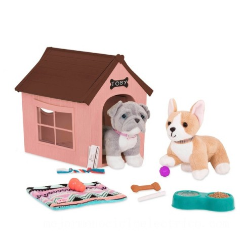 Our Generation Dog House Set doll Canada [Sale]