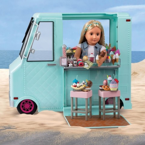 Our Generation Sweet Stop Ice Cream Truck doll Canada [Sale]