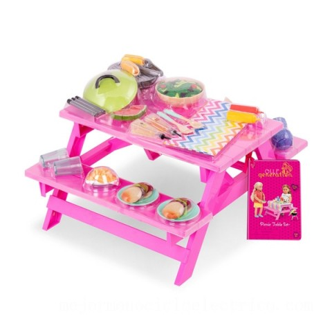 Our Generation Picnic Table Set doll Canada [Sale]