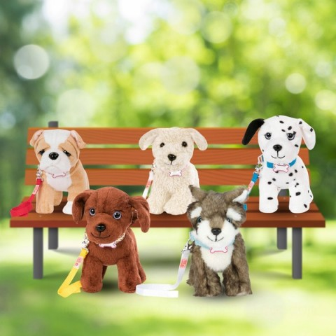 Our Generation 15cm Plush Puppies doll Canada [Sale]