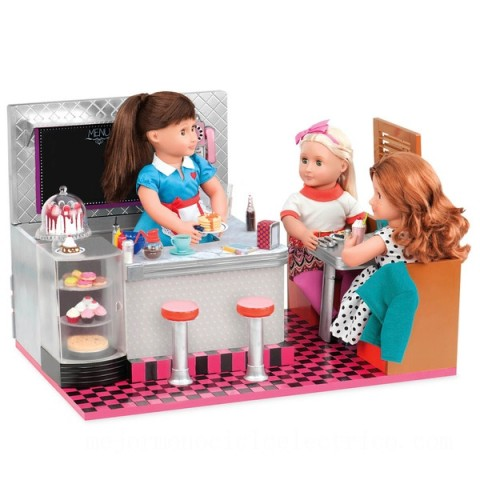 Our Generation Retro Bite to Eat Diner doll Canada [Sale]