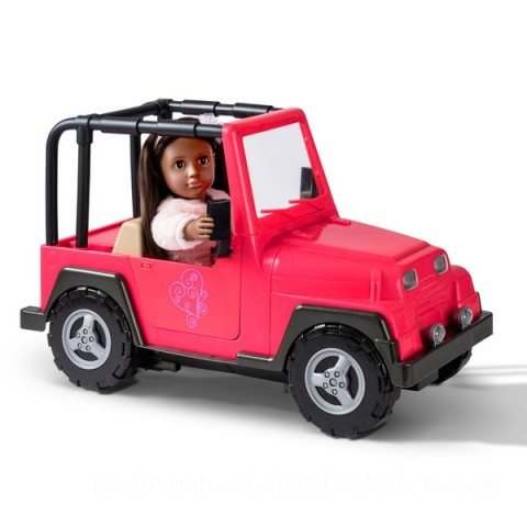 Our Generation My Way and Highway 4x4 Jeep doll Canada [Sale]