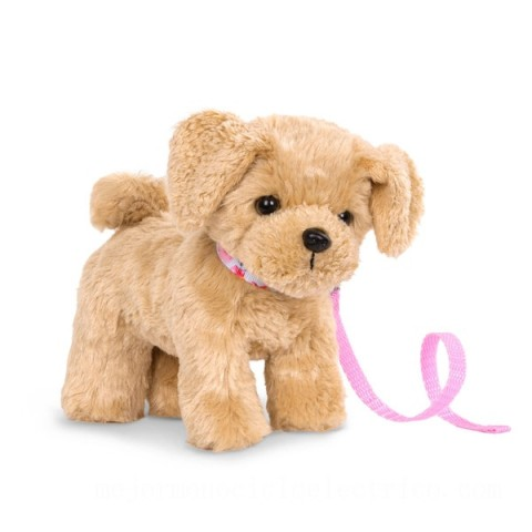 Our Generation 15cm Poseable Goldendoodle Pup doll Canada [Sale]