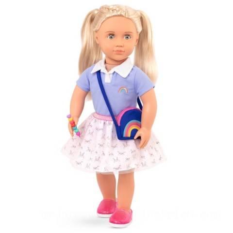 Our Generation Rainbow Academy Outfit doll Canada [Sale]