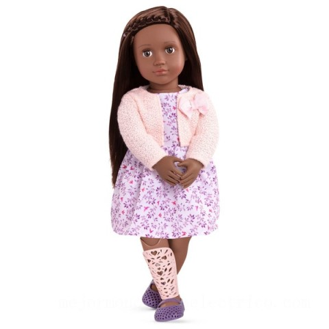 Our Generation Suzee with a Removable Prosthetic Leg doll Canada [Sale]