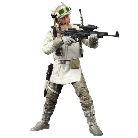 Hasbro The Black Series Star Wars 40th Anniversary Empire Strikes Back Hoth Rebel Trooper Canada [Sale]