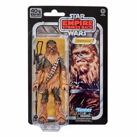 Hasbro The Black Series Star Wars 40th Anniversary Empire Strikes Back Chewbacca Action Figure Canada [Sale]