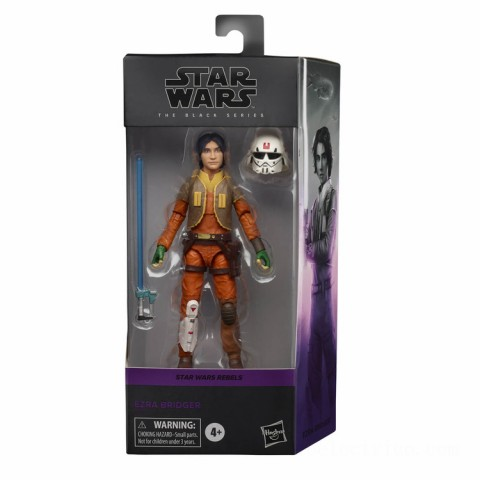 Hasbro Star Wars Black Series Rebels Ezra Bridger 6-Inch Scale Figure Canada [Sale]