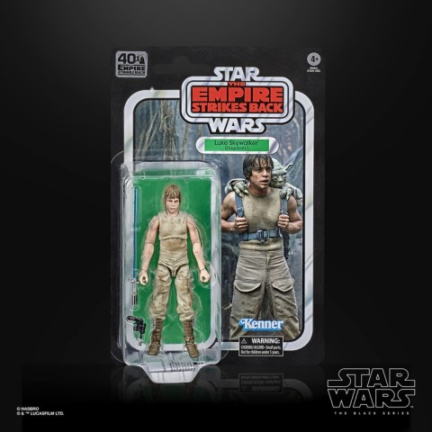 Hasbro The Black Series Star Wars 40th Anniversary Empire Strikes Back Luke Skywalker Dagobah Action Figure Canada [Sale]
