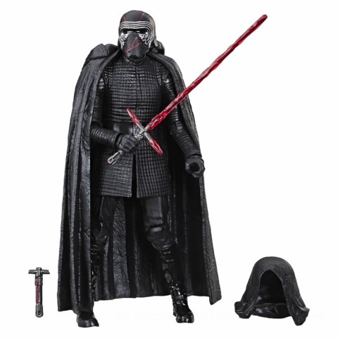 Hasbro Star Wars: The Rise of Skywalker The Black Series Supreme Leader Kylo Ren 6 Inch Action Figure Canada [Sale]