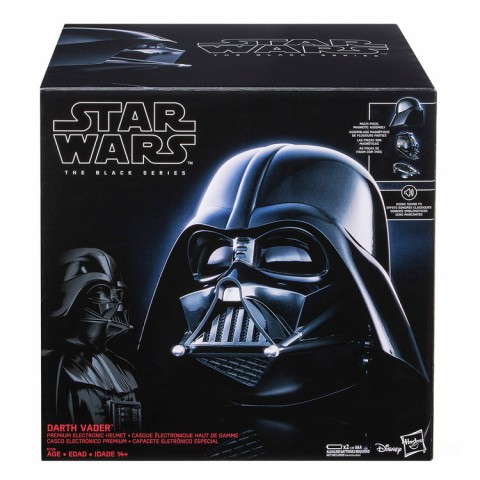 Hasbro Black Series Star Wars Darth Vader Electronic Replica Helmet Canada [Sale]