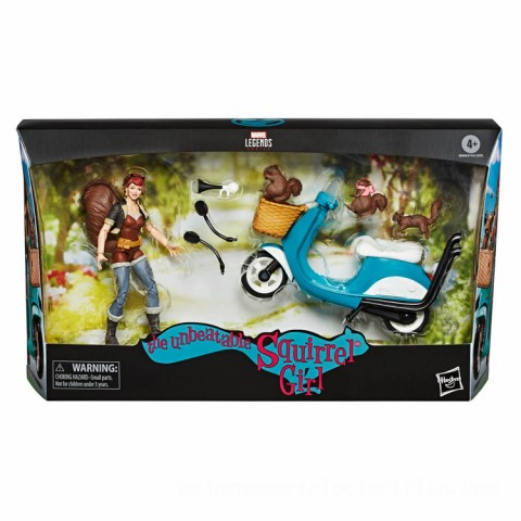 Hasbro Marvel Legends Riders Series Squirrel Girl 6 Inch Action Figure & Vehicle Set Canada [Sale]