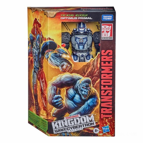 Hasbro Transformers Generations War for Cybertron: Kingdom Voyager WFC-K8 Optimus Primal Action Figure Canada [Sale]