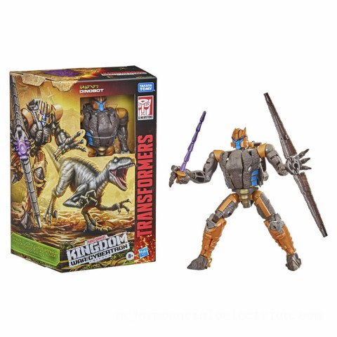 Hasbro Transformers Generations War for Cybertron: Kingdom Voyager WFC-K18 Dinobot Action Figure Canada [Sale]