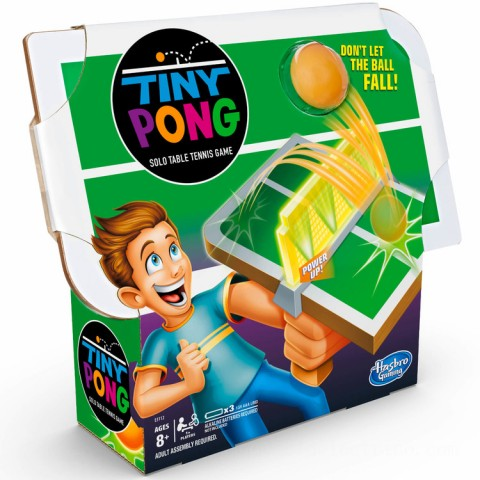 Hasbro Tiny Pong Solo Table Tennis Handheld Game Canada [Sale]