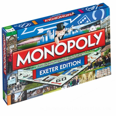 Monopoly Board Game - Exeter Edition Canada [Sale]