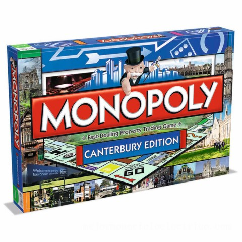 Monopoly Board Game - Canterbury Edition Canada [Sale]