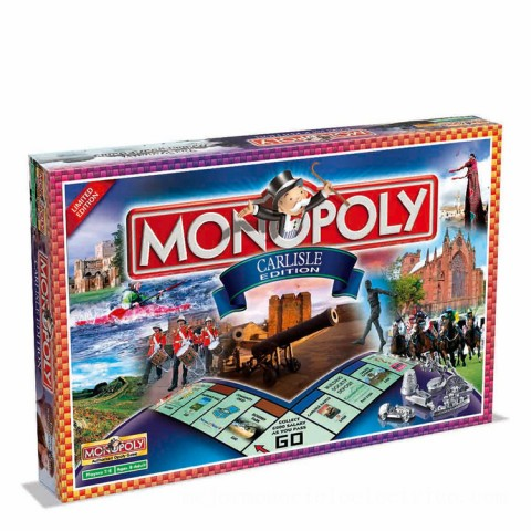 Monopoly Board Game - Carlisle Edition Canada [Sale]