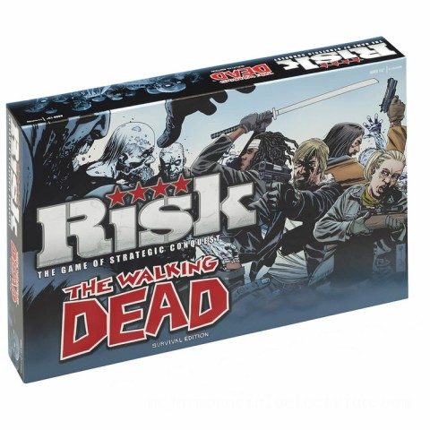 Risk Board Game - The Walking Dead Edition Canada [Sale]